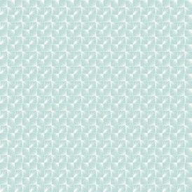 Stockholm Geometric Wallpaper Blue