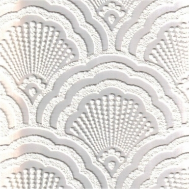 Supatex Shell Pure White Textured Paintable Wallpaper (FD30908)