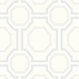Symmetry Geometric Wallpaper Pearl
