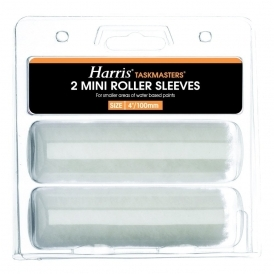 Taskmasters Mini Roller Sleeves 2 Pack Emulsion (4147)