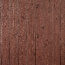 Teck Wood Panel Wallpaper Ebene