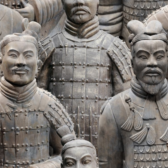 Muriva Terracotta Army Wallpaper Natural 102545
