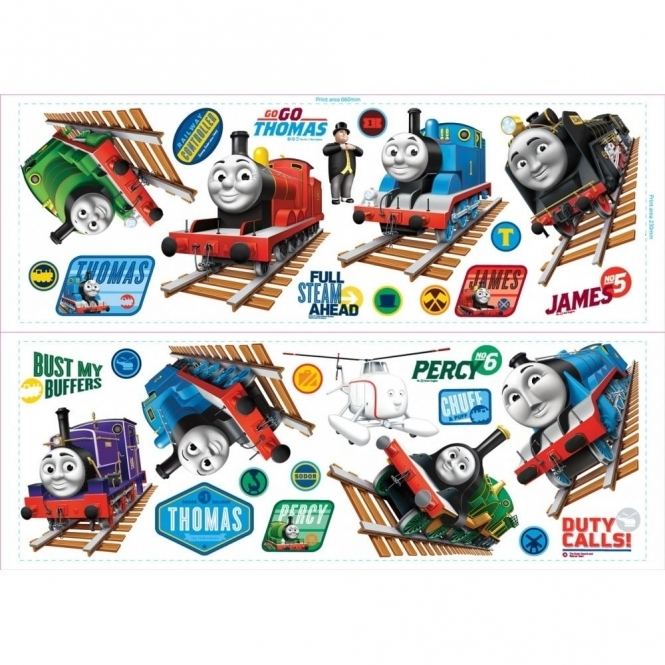 Superior Thomas U0026amp; Friends Harold The Helicopter Wall Stickers Stikarounds ... Ideas