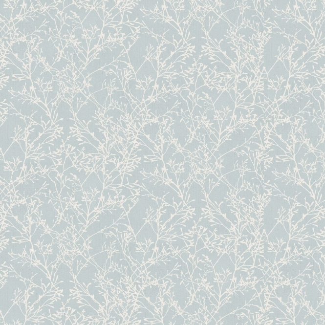 Fine Decor Tranquility Tree Wallpaper Teal, Cream (FD41713)