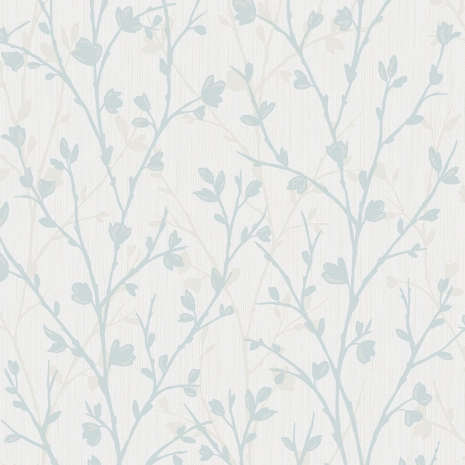 Fine Decor Twiggy Floral Wallpaper Teal (FD42160)