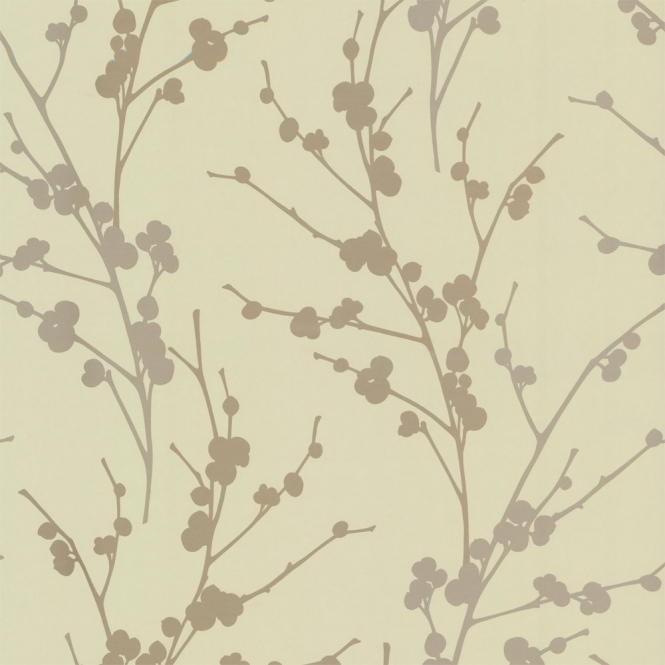 Decor Passion Twiggy Wallpaper Soft Green / Gold / Beige (01429TWIGGY)