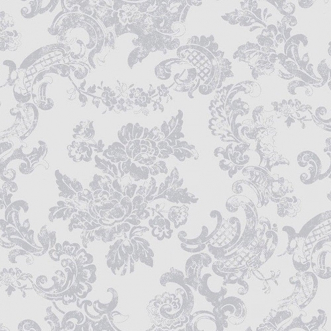 Coloroll Vintage Lace Wallpaper Dove Grey (M0755)