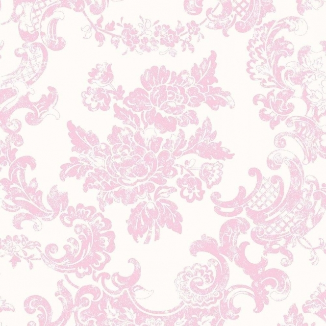 Coloroll Vintage Lace Wallpaper Marshmallow (M0756)