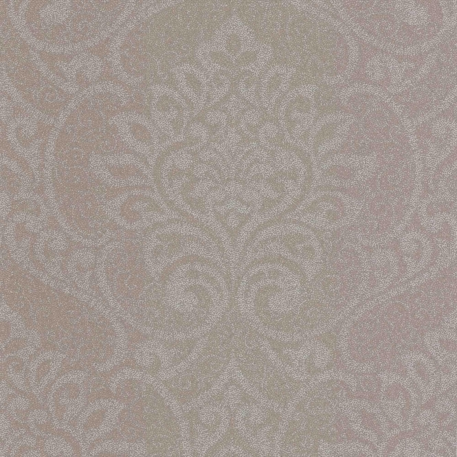 Decorline Vision Lupus Damask Wallpaper Beige / Silver (DL22836)