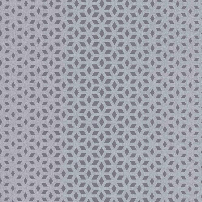 Vision Lupus Geo Wallpaper Silver Grey