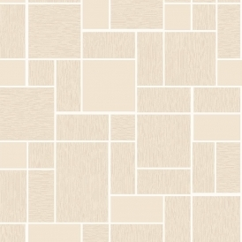 Vogue Geometric Wallpaper Beige (89114)