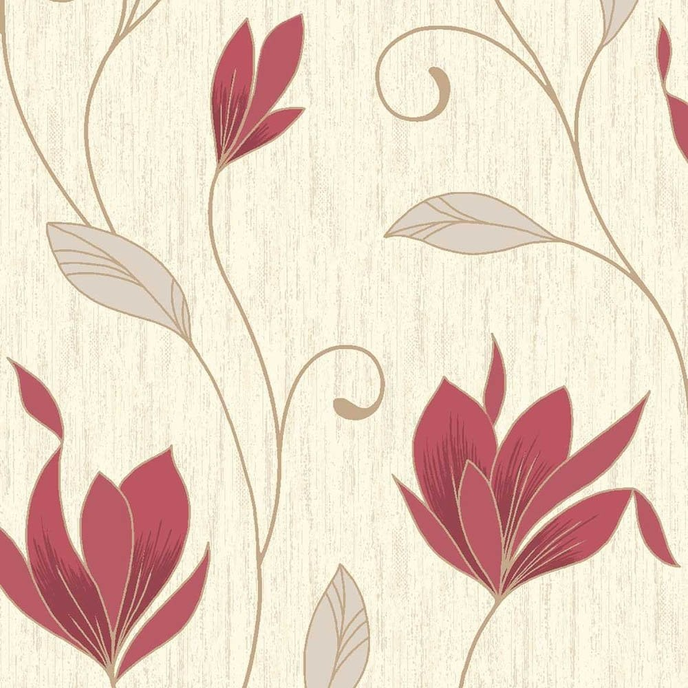 rich red wallpaper - photo #8