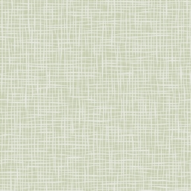 Weave Texure Wallpaper Green