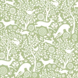 Wildlife Animal Wallpaper Green