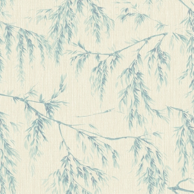 Arthouse Willow Tree Wallpaper Cream Teal