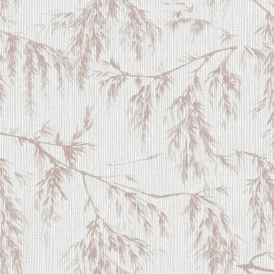 Willow Tree Wallpaper Grey Taupe