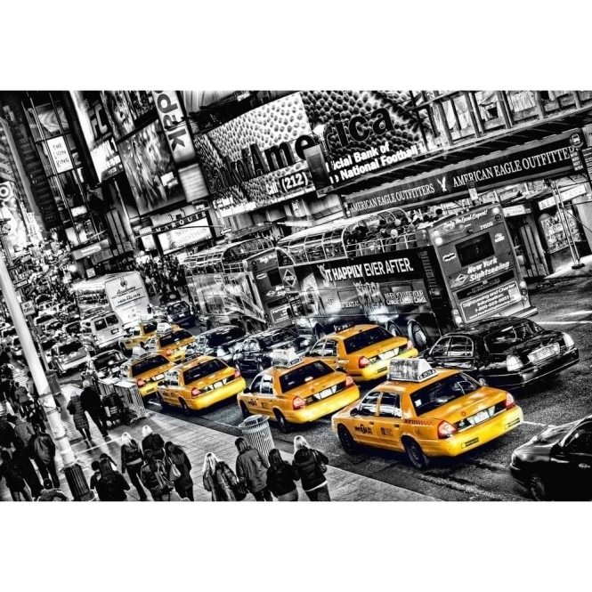 Cabs Queue Wall Mural (00116)