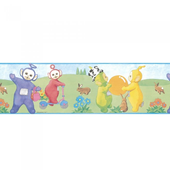 Buy Teletubbies Official Wallpaper Border