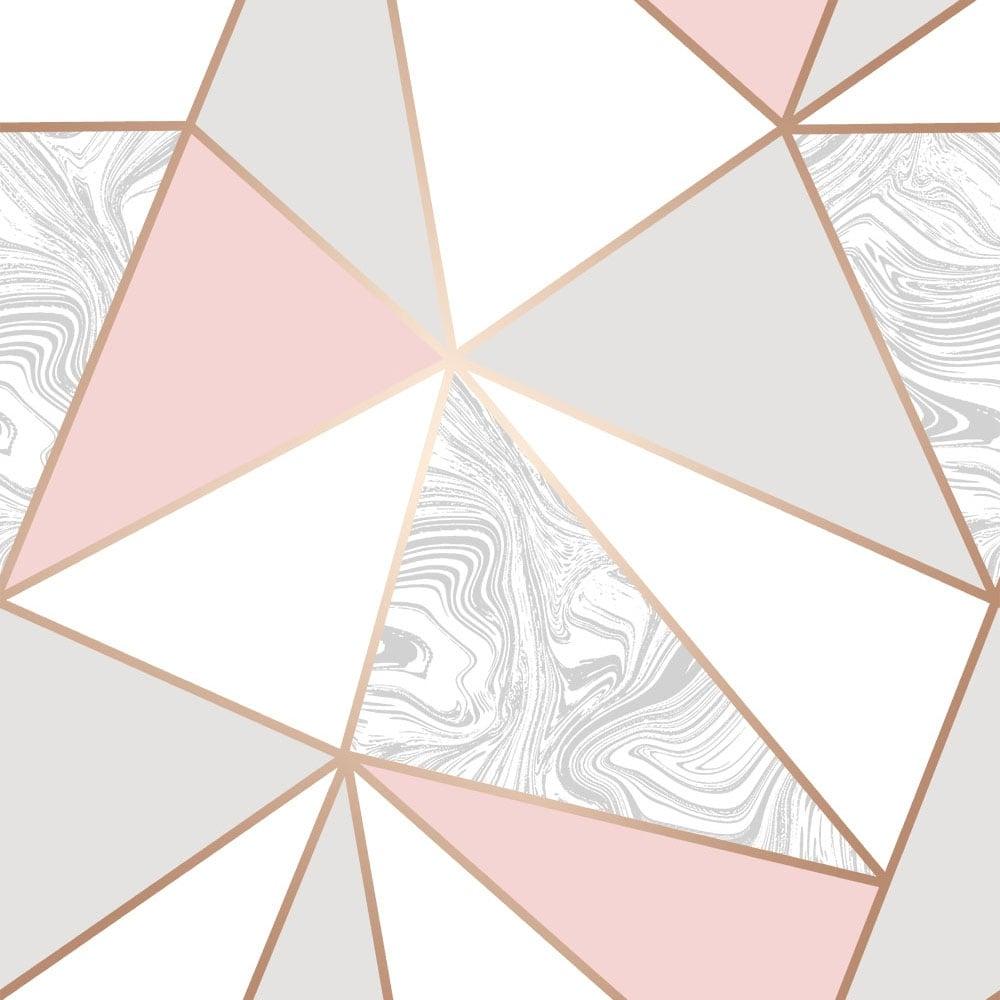 Girls Rose Gold Wallpaper: I Love Wallpaper Zara Marble Metallic Wallpaper Soft Pink